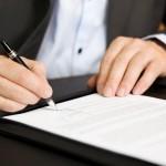 podpisanie umowy ochrony obiektu